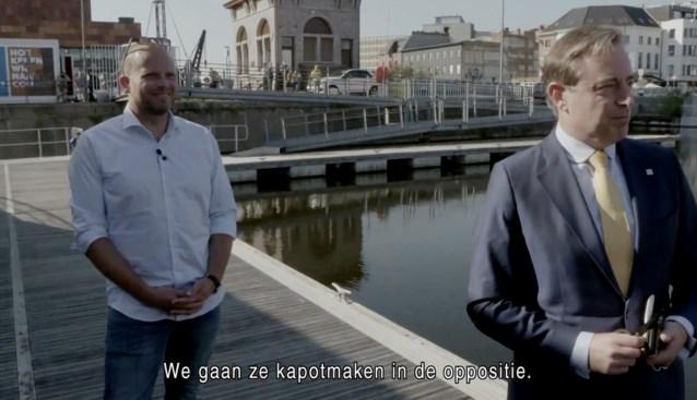 """Bart De Wever (N-VA) in 'Gert late night' over Vivaldi-coalitie: """"We maken ze kapot vanuit de oppositie"""""""