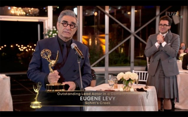 'Schitt's Creek' en 'Succession' grote winnaars virtuele Emmy Awards