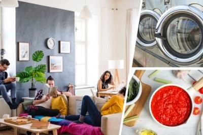 Koop tomaten in blik en ga niet naar de wasserette: huishoudtips voor kotstudenten