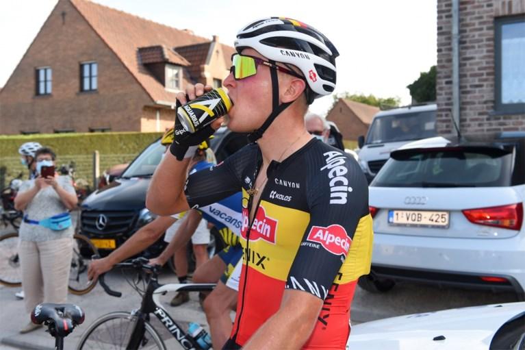"""Tim Merlier wil geen afscheid nemen van zijn driekleur op het BK wielrennen: """"Maar dan moet het echt meezitten"""""""