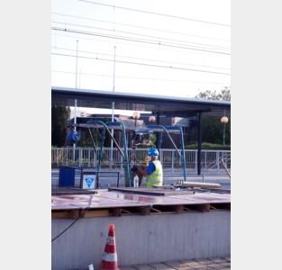 Nieuwe fase in werken aan station