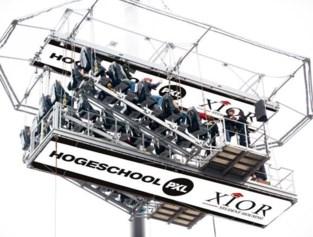 Hogeschool PXL lanceert academiejaar met 'Classroom in the sky'