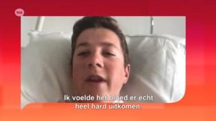 Dankzij reddende engel kan 15-jarige wielrenner het nog navertellen na doodsmak, nu zoekt hij haar