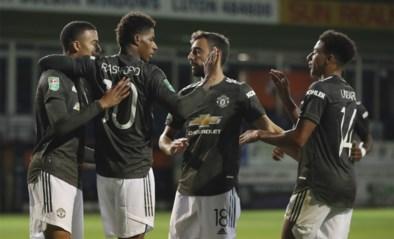Manchester United op kousenvoeten naar achtste finales van League Cup, Watford loopt blamage op