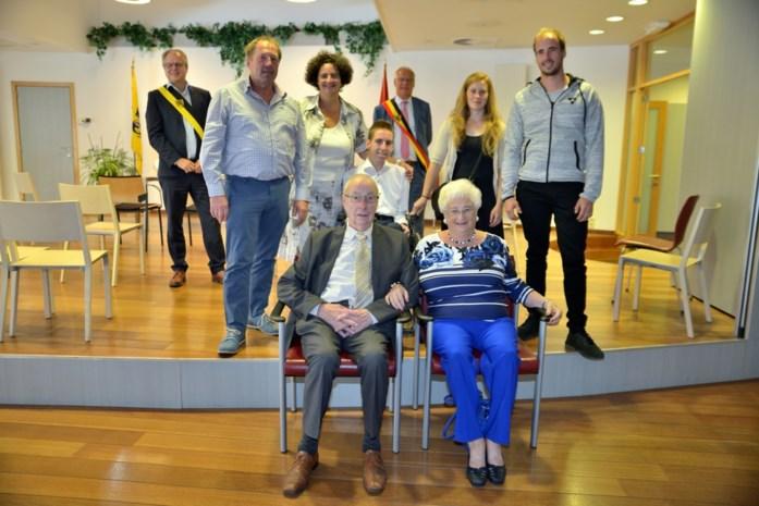 Adolf en Jeannine 65 jaar getrouwd