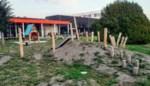 Kleuter vindt menselijk bot op speelplein dat vroeger een kerkhof was
