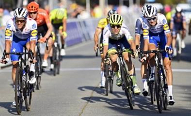 """Deceuninck – Quick-Step met twee renners op podium maar niet tevreden: """"Wij reden om te winnen"""""""