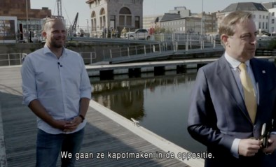 """Bart De Wever (N-VA) in Gert late night: """"We maken ze kapot vanuit de oppositie"""""""