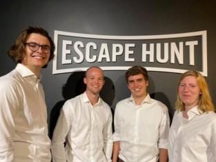 Vier Limburgers vallen wereldrecord escape rooms ontvluchten aan