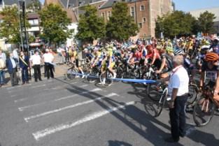 BK wielrennen start op leeg Possozplein