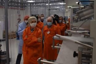 Ontex opent productielijn voor 80 miljoen mondmaskers per jaar