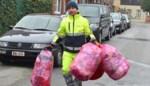 U mag de roze zakken gebruiken tot einde maart
