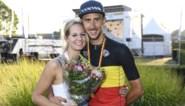 """Vriendin Noortje trots op haar vriend en Belgisch kampioen De Bondt: """"Dries was rustig, hij wist dat hij goed ging zijn"""""""