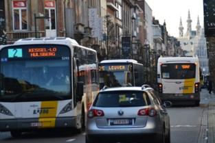 Efficiëntere busbediening en minder bussen door stadscentrum vanaf 2022: Vervoersregio Leuven heeft nieuw busplan klaar