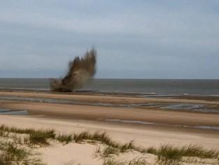 Twee zware vliegtuigbommen van 50 kg tot ontploffing gebracht