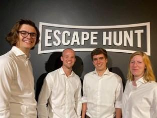 Vier Limburgers vallen wereldrecord escaperoom aan
