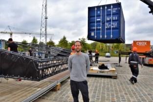 """Wannes Cappelle dolblij dat opbouw Depart XXL begonnen is en zijn concert bijna uitverkocht is: """"Ik kan wel een polonaise dansen"""""""