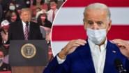 """""""Waarom heeft hij al dat geld uitgegeven aan plastische chirurgie?"""": Trump lacht met mondmasker van Joe Biden"""