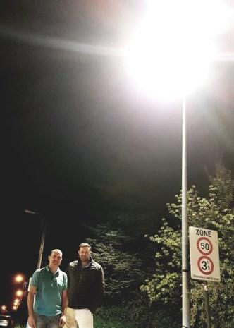 Lichten gaan 's nachts niet meer uit in Haacht