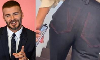 """David Beckham filmt stiekem achterwerk van vrouw Victoria: """"Ziet er goed uit"""""""