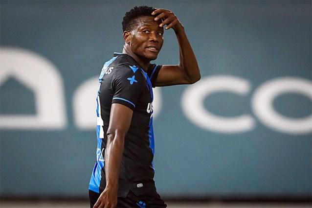 David Okereke moet nog een week langer in quarantaine blijven bij Club Brugge