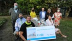 Stuntzwemmer Matthieu Bonne gehuldigd door Westtoer met bijdrage voor Make-a-Wish