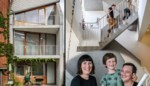 Binnenkijken in het beste van twee werelden: een strakke nieuwbouw in de stad, vlak bij het groen