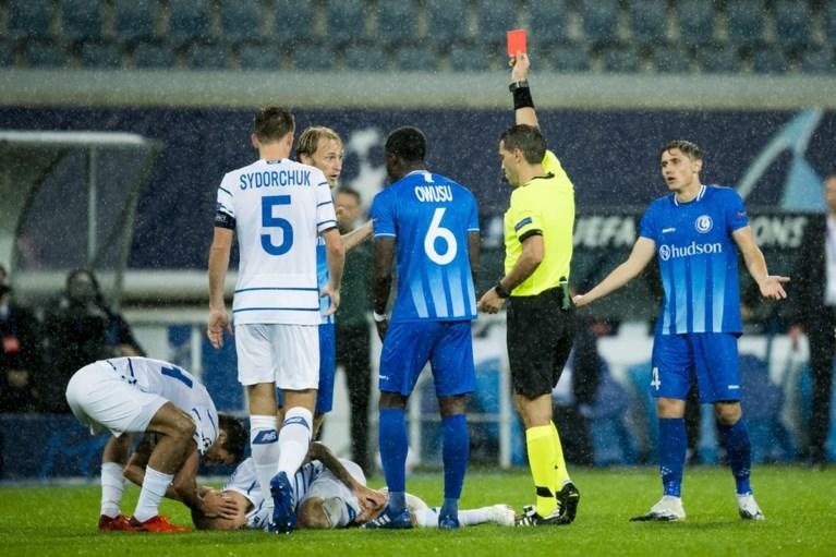 AA Gent moet hopen op een mirakel: rode kaart voor Bezus torpedeert kansen van Buffalo's voor de Champions League