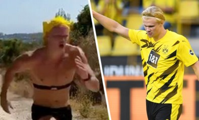 Het geheim van Erling Haaland? Borussia Dortmund deelt straffe video die véél duidelijk maakt