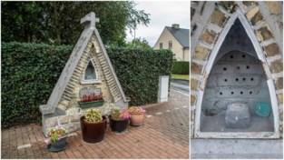 """Mariabeeld gestolen uit kapel van verongelukte Geert Vermander: """"Dit is erg emotioneel"""""""
