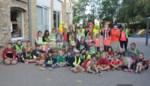 Kinderen massaal te voet of met de fiets naar school