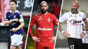Elftal zkt. club: deze spelers met schat aan ervaring in Jupiler Pro League zitten nog zonder ploeg