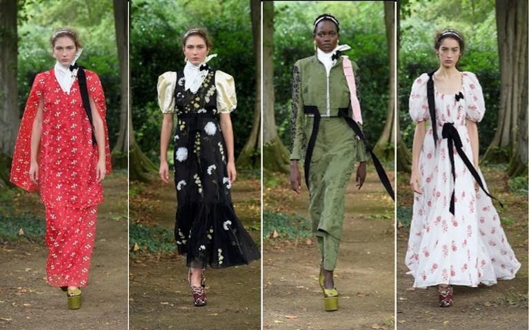 Veel groen en klassiekers. Dit zijn de hoogtepunten van de Londense modeweek