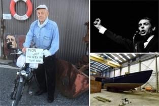"""Jef (85) reisde de hele wereld rond, nu waagt hij zich aan avontuur in eigen land: """"Om verjaardag te vieren én als eerbetoon aan Jacques Brel"""""""