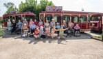 Bewoners De Plataan treinen naar de Meerhoek