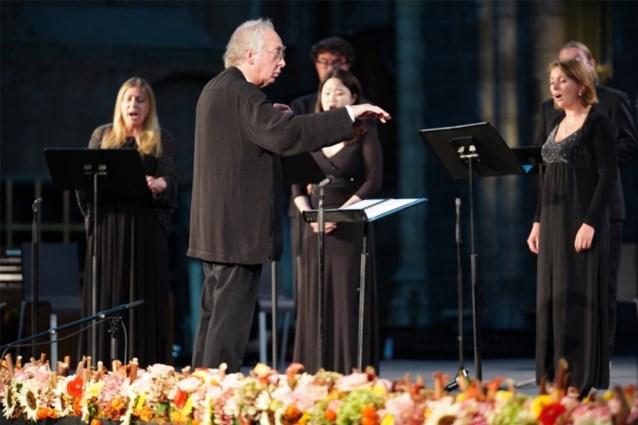 Naar adem happen binnen de vier minuten: componist Arvo Pärt brengt in Gent een eresaluut aan Van Eyck