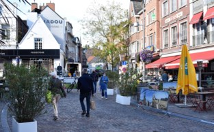 Ruimere terrassen Markt mogen al zeker tot jaareinde blijven staan