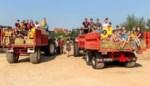 KLJ Groot-Orsmaal de boer op tijdens startdag