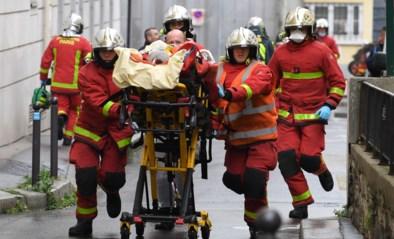Vier gewonden bij mesaanval in Parijs, vlakbij voormalige kantoren Charlie Hebdo