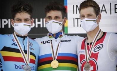 'Slecht' nieuws voor Van Aert: slechts twee renners stonden op podium van tijd- en wegrit op hetzelfde WK