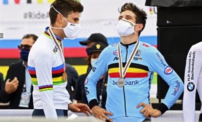 """Wout van Aert na zilveren WK-medaille zo goed als zeker van ticket voor Olympische Spelen: """"Tokio wordt een groot doel"""""""