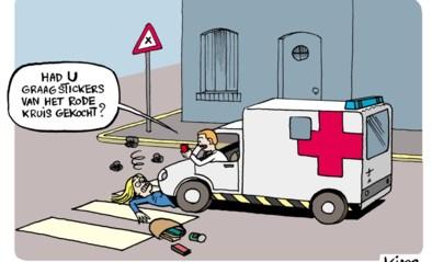 Rode Kruis stuurt bedelbrieven rond voor financiële steun door tegenvallende stickerverkoop