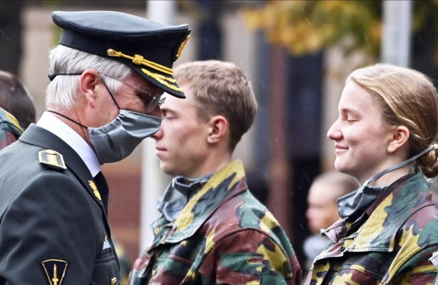 Coronabesmettingen in legeropleiding van Elisabeth