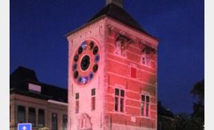 Stadhuis krijgt kleurtje in strijd tegen kanker