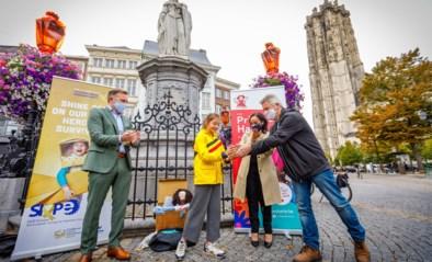 Margareta kleurt goud voor strijd tegen kinderkanker
