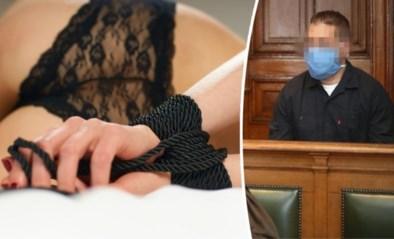 Jonge vader (28) veroordeeld voor opzettelijke moord nadat sm-slavin (60) in slipje stikt tijdens seksdate
