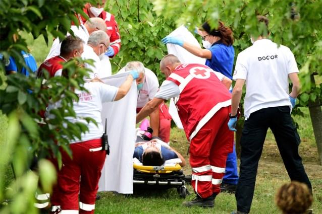 """Chloé Dygert deelt bloederige foto van zware val op WK tijdrijden, die toch haar eigen schuld was: """"Ik dacht: kan ik nog winnen?"""""""