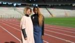 Elodie Ouedraogo en Olivia Borlée ontwerpen nieuw lintje voor Pink Ribbon