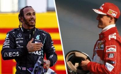 Lewis Hamilton kan dit weekend het recordaantal grand-prixzeges van Michael Schumacher evenaren: wie is nu de grootste?