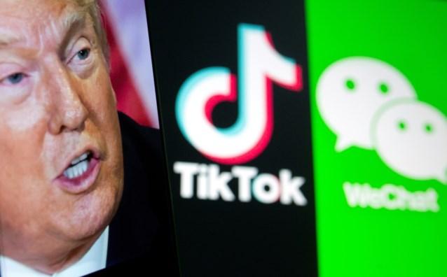 Trump vraagt rechter om toestemming voor verbod op Chinese chatapp WeChat